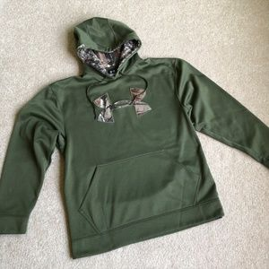 Under Armour Green/Camo Hoodie